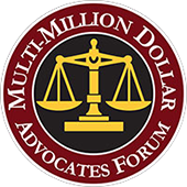 Award - Multi-Million Dollar Avocates Forum