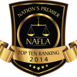 Award - NAFLA 2014 Top Ten Ranking